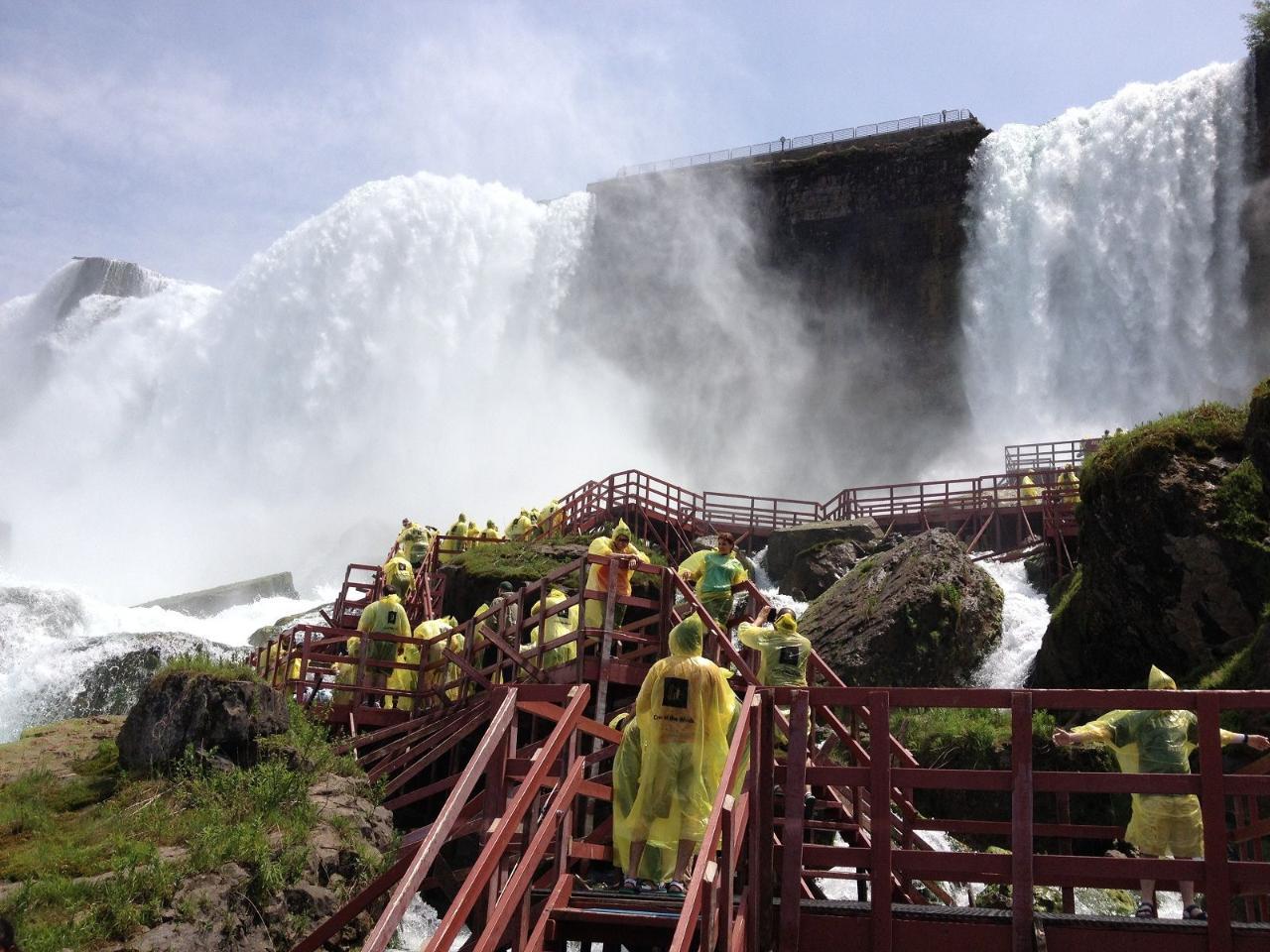 Maid in America Tour (U.S.A side of Niagara Falls)