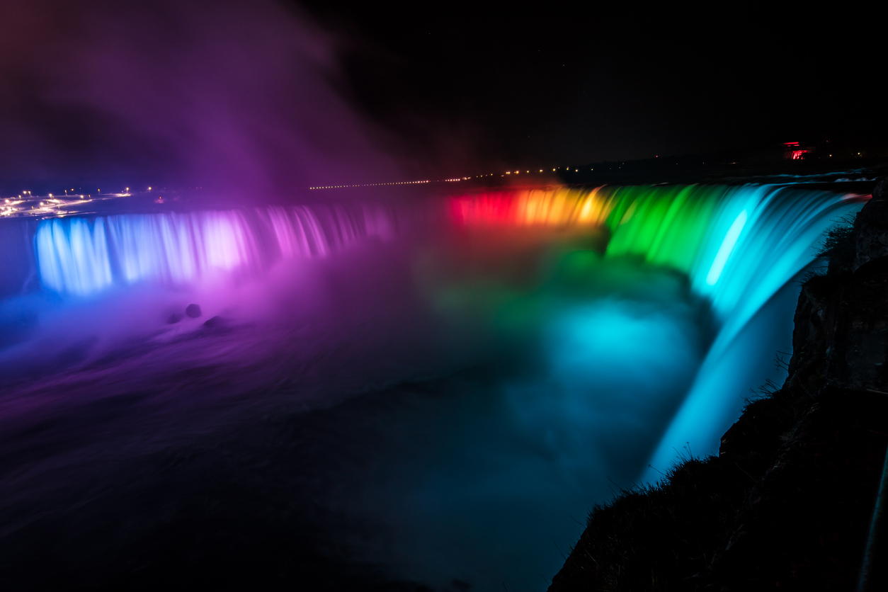 Canadian Rainbow Illumination Evening Tour (Canadian Pickups)