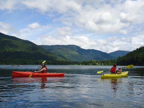 Rental Single Kayak