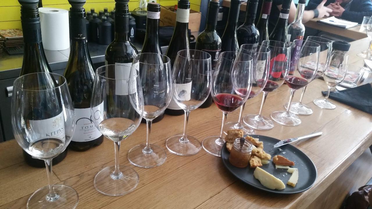 Athens Wine Tasting. A Masterclass of 8 Greek Grand Cru Wines