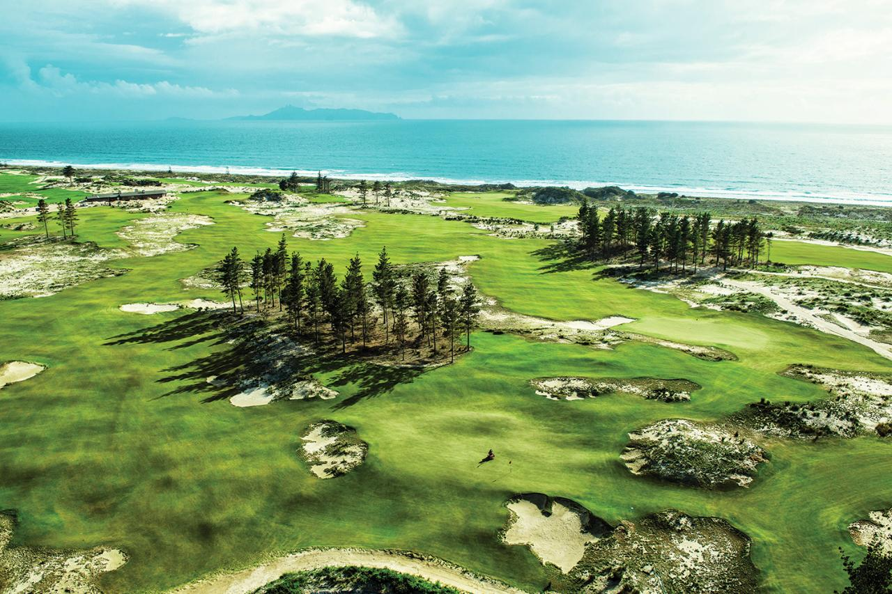 VIP Golfing at Tara Iti Mangawhai Northland - Day 2