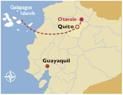Galapagos Cruise, Quito & Otavalo Indigenous Market