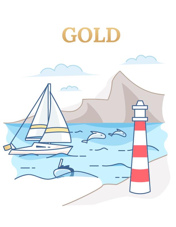 Gold Tour (4-hour Los Cristianos dolphin excursion)