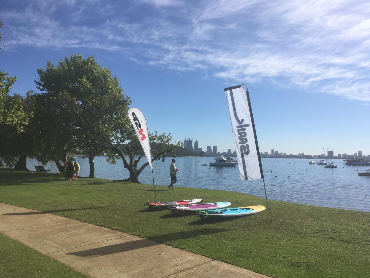 Swan River (Perth CBD) Board Hire