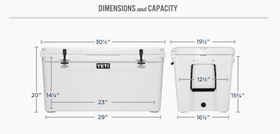 YETI 105 Cooler (IGBC Certified)