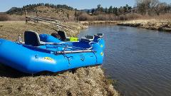 13' NRS Otter Self-Bailing Raft