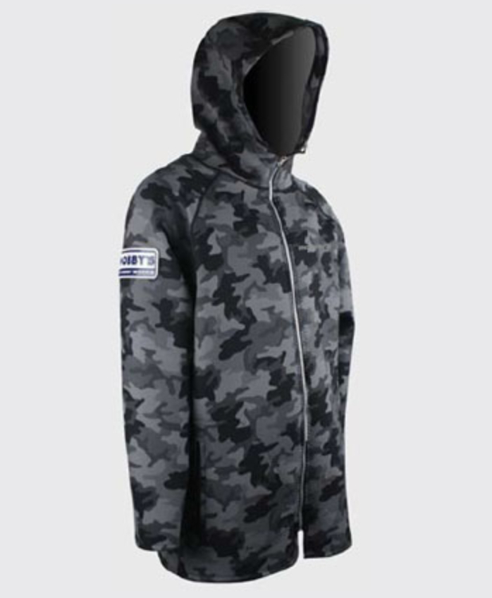 Camo Neoprene Coat