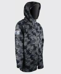 Camo Neoprene Coat