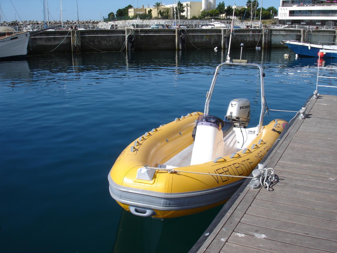Aluguer de Barco com Skipper - 4,5 Mt
