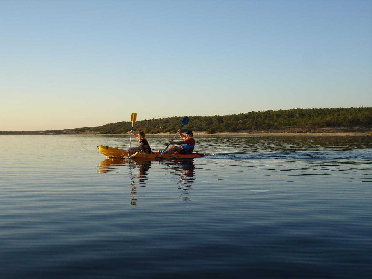 Tour de Kayak na Lagoa de Albufeira