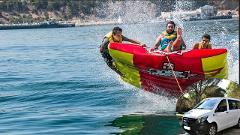 Fun Boat na Arrábida com transfer