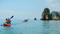 Tour de Kayak - Arrábida mar com transfer