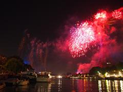 Croisière feu d'artifice / Bastille day cruise