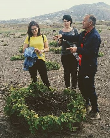 Santorini Anhydrous Croft Tour with Local Food & Wine tasting By a Local