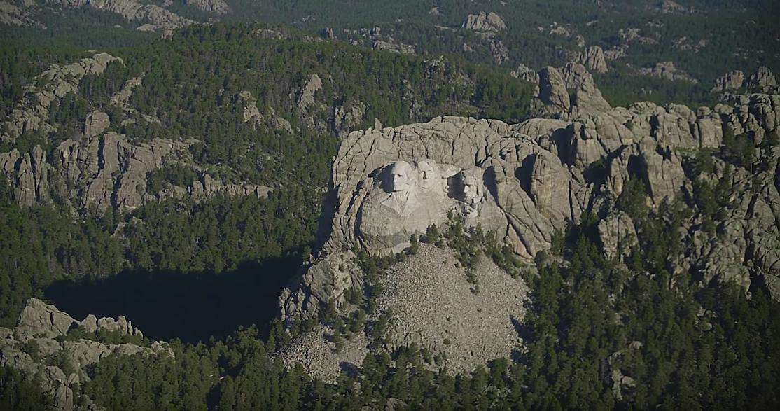 Iron Mountain Helicopter Tour