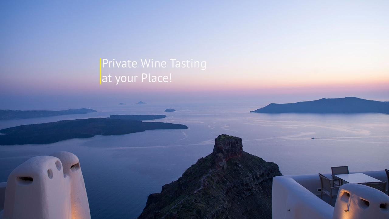 Private Wine Tasting at your Place