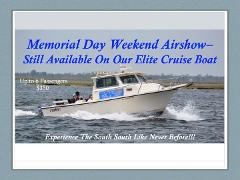 Private Elite Cruise - Memorial Day Weekend Air Show