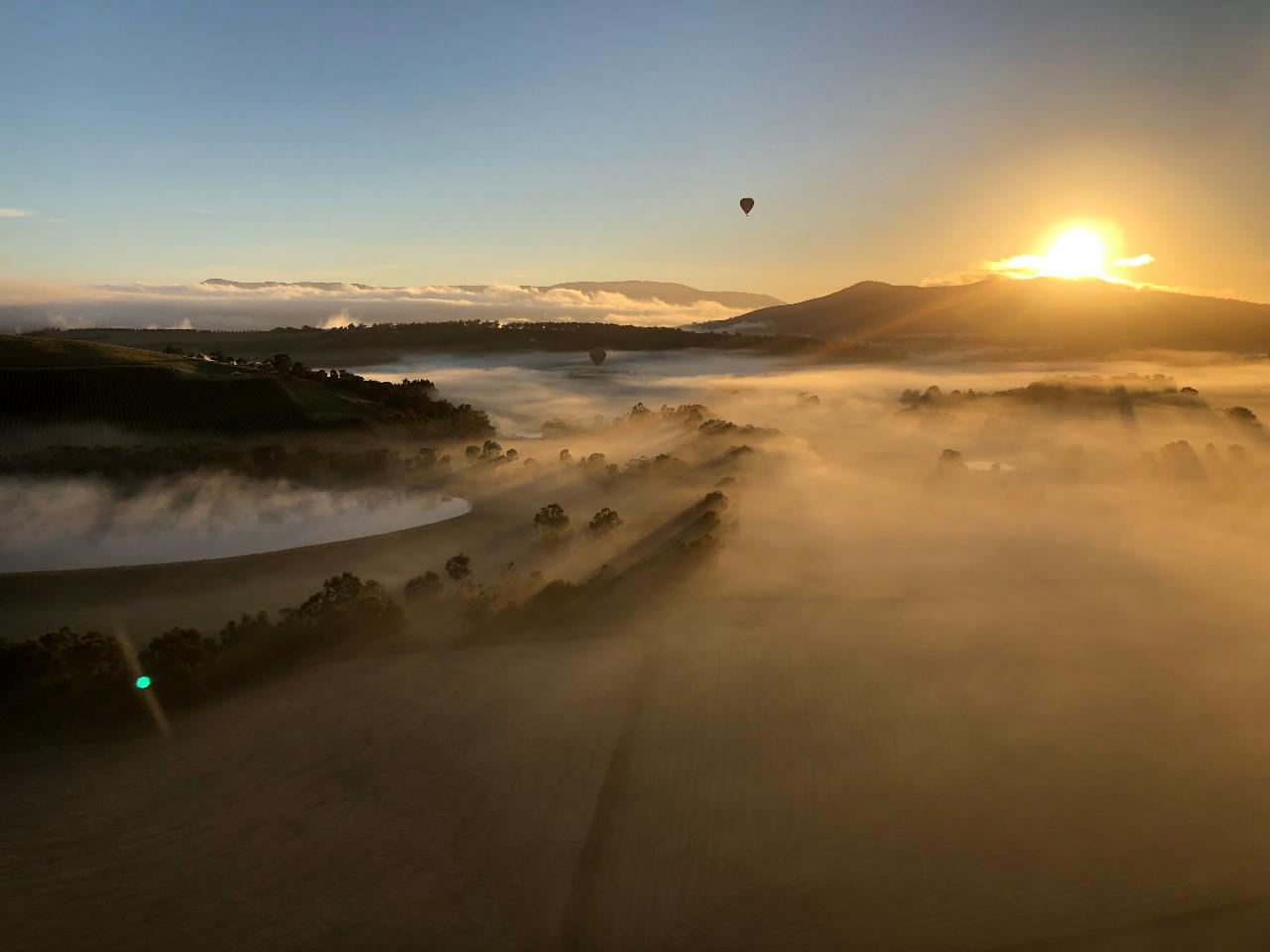 Hot Air Ballooning TASMANIA