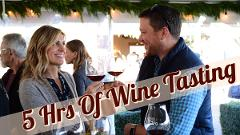 Private 5 Hour Wine Tasting Tour for 1-8 guests (visit 2-3 Wineries)