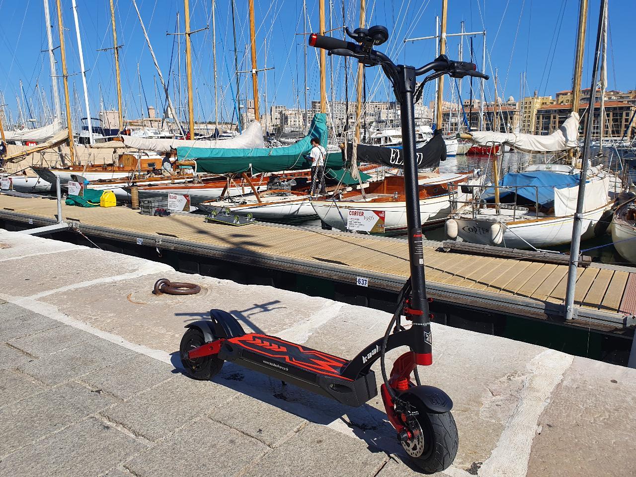 """Location trottinette électrique """"Sensations"""" - (1hr-8hr) - Marseille - E-scooter """"Sensations"""" rental"""