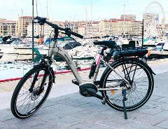 Location velo electrique journee -  Marseille - Full day E-bike rental