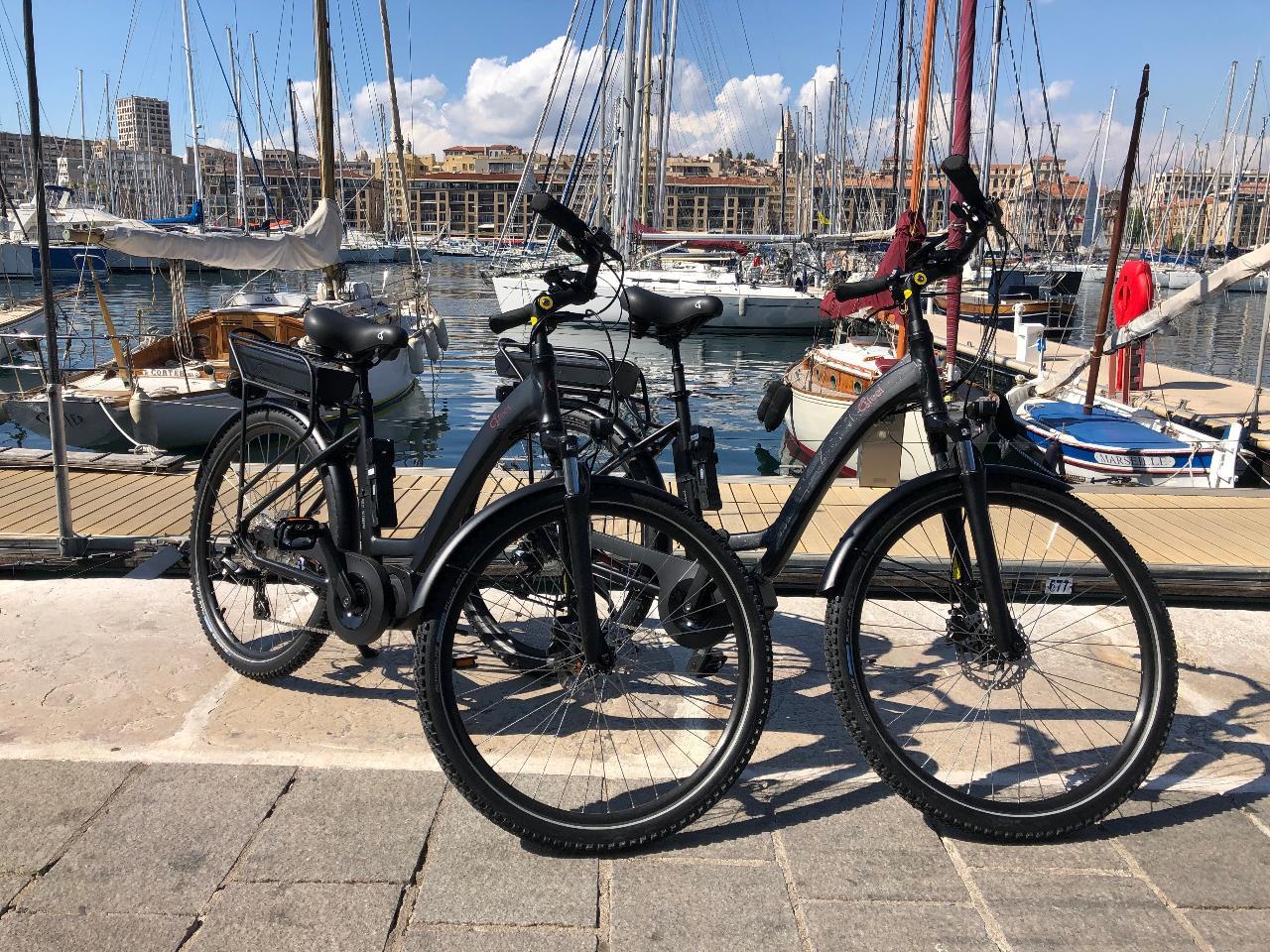Location velo electrique demi journee - Cassis - Half-day E-bike rental