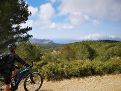 """Tour VTT Electrique Cassis """"Les massifs"""" (niveau difficile) - E-mountain bike tour Cassis """"Massif"""" (difficult level)"""