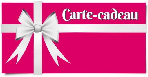 Bon cadeau - 50€ - Gift card