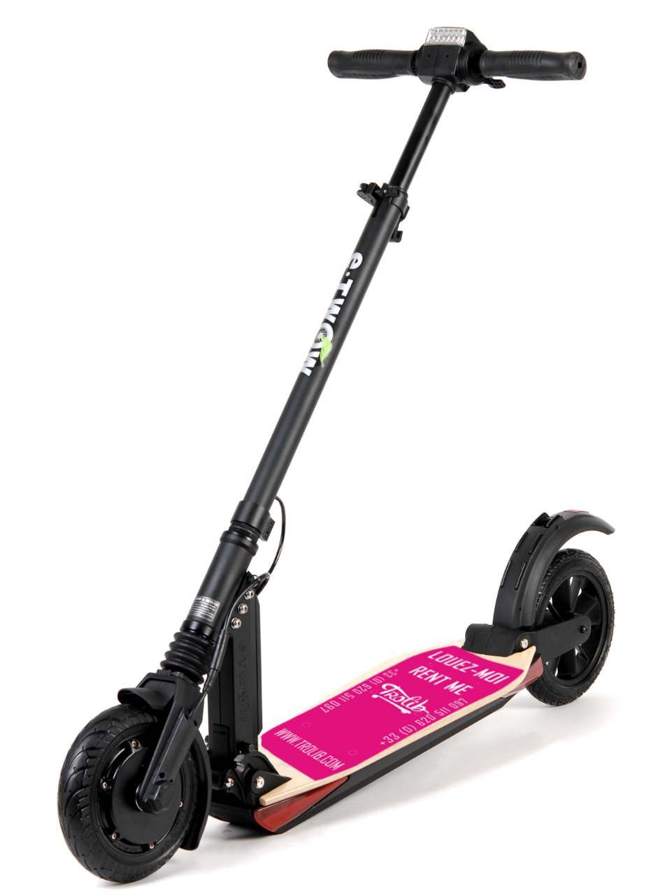Location trottinette électrique longue durée - Marseille - Long-term e-scooter rental