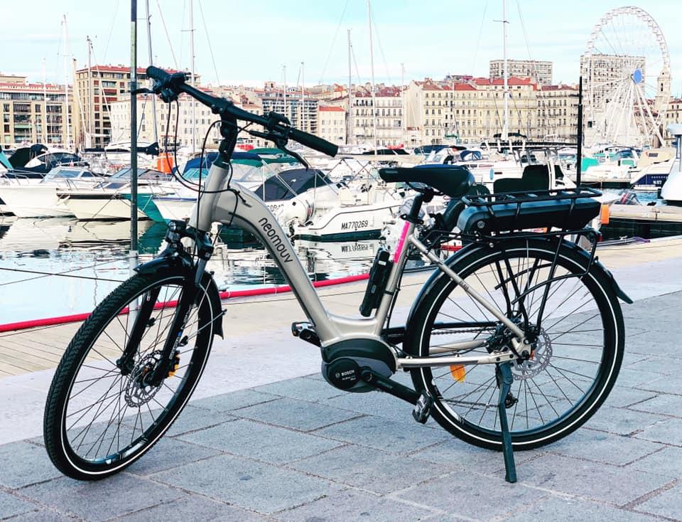 Location velo electrique demi journee - Marseille - Half-day E-bike rental