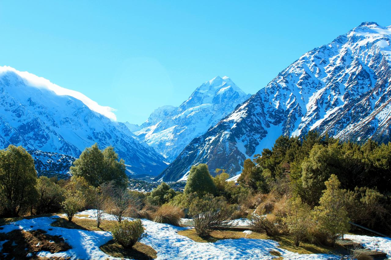 Aoraki-Mt Cook all-day scenic tour from Christchurch – mountains, lakes, glaciers and Alpine Centre