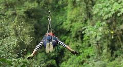 Zipline at San Juan Lachao