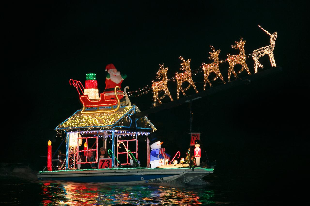 Holiday Lights Cruise Private Charter (1-6 Passengers), (7-12 Passengers) or (up to 15 passengers)