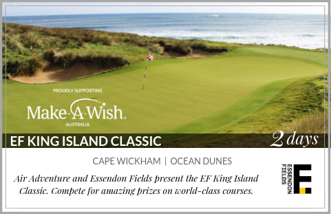 EF King Island Classic - Cape Wickham & Ocean Dunes - 2 days - supporting Make-A-Wish